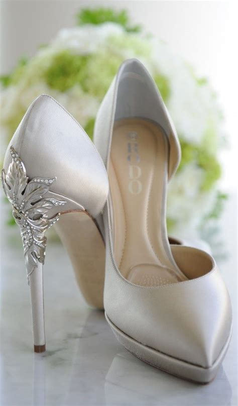 wedding shoes silver lace flower pattern amazing decorations and shapes you 1132