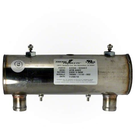 tub heater assembly therm products heater e2550 020xet hurricane and leisure