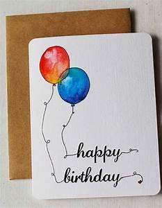 Geburtstagskarte Basteln Einfach : geburtstagskarten selber basteln 30 ideen und praktische tipps daf r ~ Orissabook.com Haus und Dekorationen