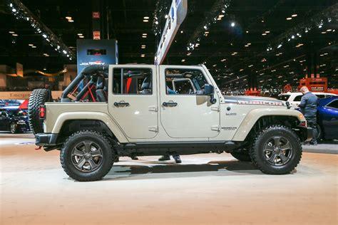 2017 Jeep Wrangler Rubicon Recon Looks Trail-ready In