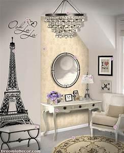 Best 20 paris themed bedrooms ideas on pinterest paris for Beautiful paris themed wall decals