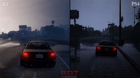 Grand Theft Auto 5 Xbox One Vs Playstation 4 Graphics