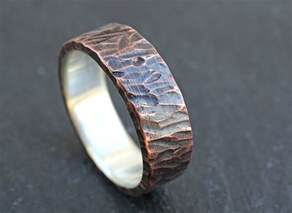mens unique wedding rings buy a custom made viking wedding band mens promise ring or unique mens wedding band two toned