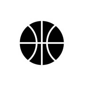 Black and White Basketball Logos