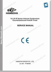 Hangcha Foklift K21 K25 Service Manual