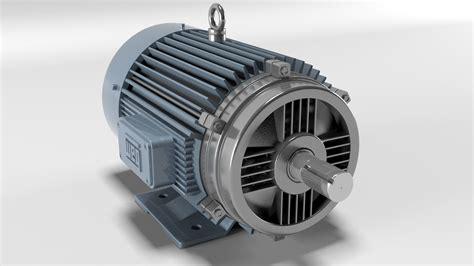 Electric Motor 3D model   CGTrader