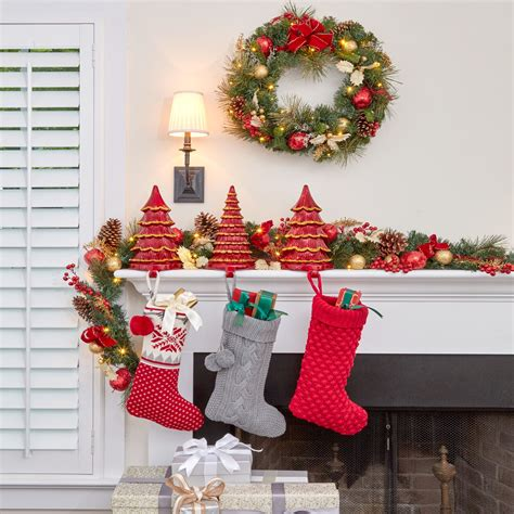 cordless led christmas garland brylanehome
