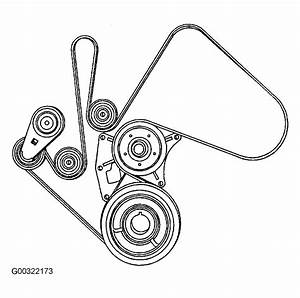 2004 Chevrolet Silverado Serpentine Belt Routing And