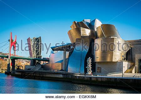 guggenheim museum of contemporary bilbao bizkaia basque country stock photo royalty free