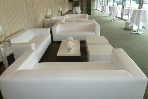 Loveseat Lounge by White Lounge Sofa Hire Lounge