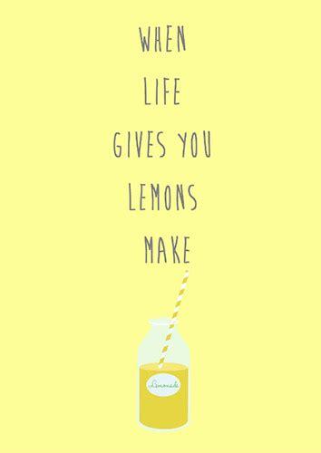 life   lemons  encouragement ecards