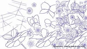Learn How to Draw a Butterfly on a Flower - Step by Step