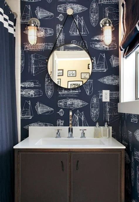 anchor bathroom decor nautical boys bathroom design ideas Anchor Bathroom Decor