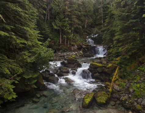 indian creek waterfall north cascades national park andy porter images