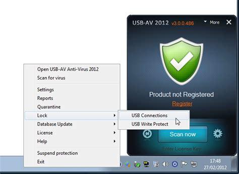usb av antivirus mundo antivirus