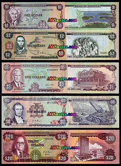 jamaica banknotes jamaica paper money catalog