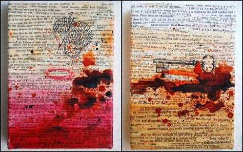 make an art decor from old book pages craft projects for every fan