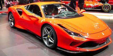 ferrari  tributo returns  mid engined sports car