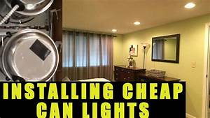 How To Install  U0026 Wire Can Lights    Recessed Lights