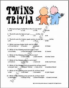 Twins Trivia Game Example Kids Got Twins? Pinterest