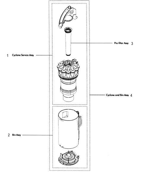 dyson model dc upright vacuum repair