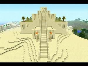 Minecraft: Ziggurat of Ur recreated - YouTube