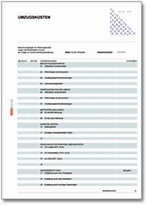 Kilometergeld Berechnen : rechentabelle berufliche umzugskosten formular zum download ~ Themetempest.com Abrechnung