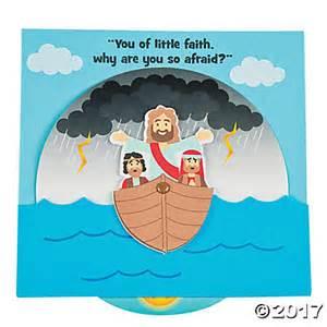 Jesus Calms the Storm Bible Craft