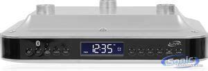 ilive ikb333s wireless under the cabinet clock radio bluetooth