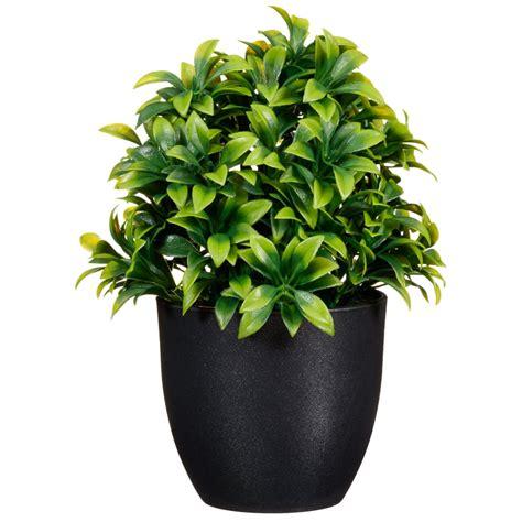decorative boxes potted plant 20cm home artificial plants
