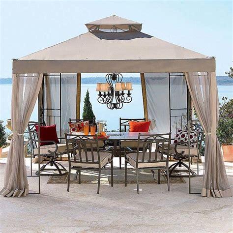 outdoor oasis  gazebo replacement contemporary