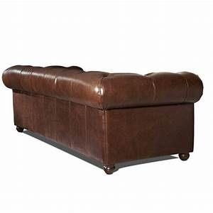 Canapé Chesterfield Cuir Vieilli : canap chesterfield en cuir mister canape ~ Teatrodelosmanantiales.com Idées de Décoration