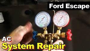 2010 Ford Escape Ac Repair  Condenser  Auto Transmission