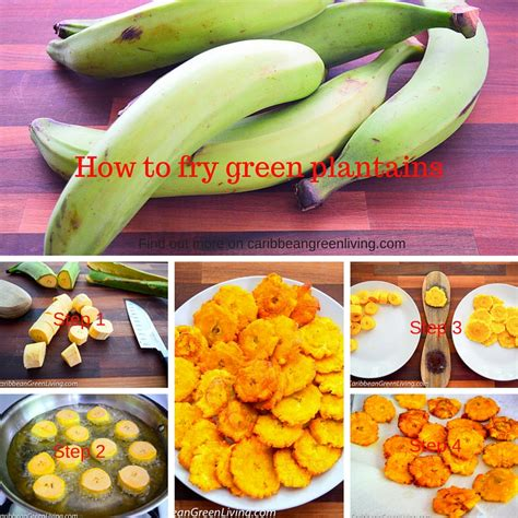 how to fry plantains how to make crispy fried green plantains caribbean green living