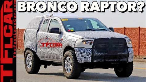 breaking news  ford bronco prototype caught driving