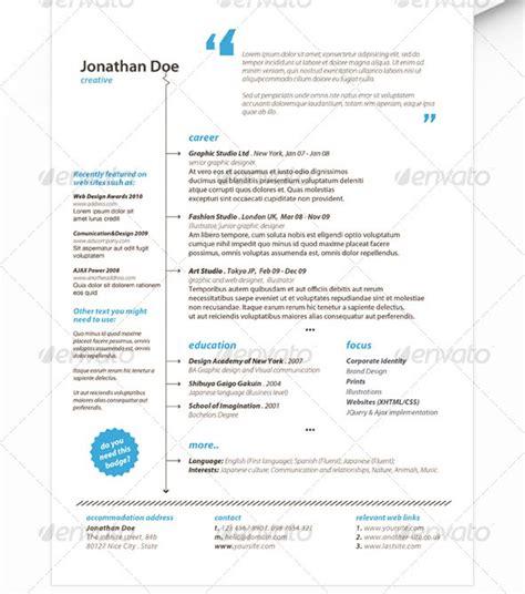 Stylish Resume by 37 Stylish Resume Templates Vandelay Design