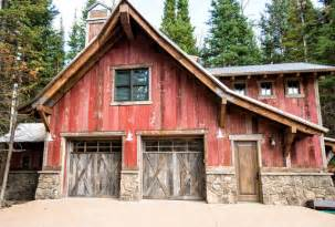 Decorative Barn Style Garage With Apartment Plans by House In Deer Valley Utah Rustic Garage And Shed