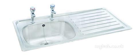 unisink inset  tap hole single bowl kitchen sink