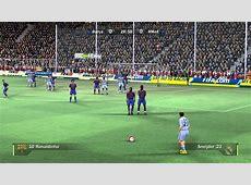 FIFA 08 Barcelona Vs Real Madrid Gameplay PC YouTube
