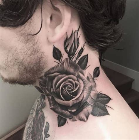 side neck tattoo ideas  pinterest