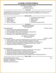 resume for assistant skills 5 assistant skills for resume bibliography format