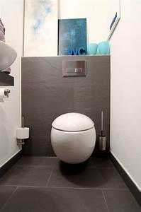 Kleines Gäste Wc Optisch Vergrößern : modernes g ste wc mit stil ~ Markanthonyermac.com Haus und Dekorationen