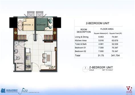 condo sale  jazz residences condominium unit floor plans