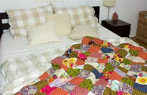 Decke Selber Nähen : diy patchworkdecke aus stoffresten n hen green bird ~ Lizthompson.info Haus und Dekorationen