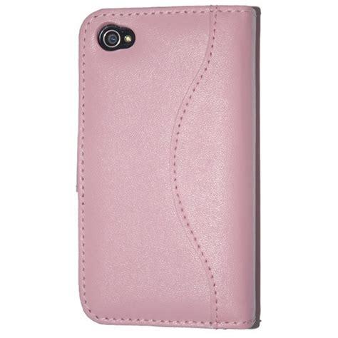 housse iphone 4 s housse etui en cuir ouverture portefeuille pour iphone 4 4s htcn