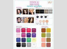 Color Analysis 3 Degrees of Cool & Brilliant