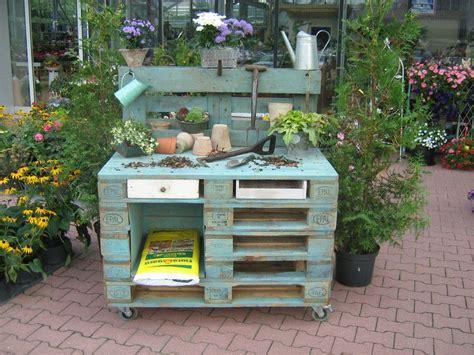 Garten Deko Paradies by Weiteres Pflanztisch Aus Europaletten Ein