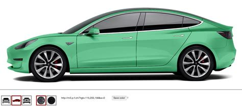 Play With Tesla Model 3 Colors & Rims | CleanTechnica