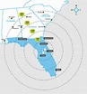 Map - Southeast Regional Area