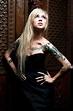 I love Sara Fabel's hair!! | Blonde tattoo, Girl tattoos ...